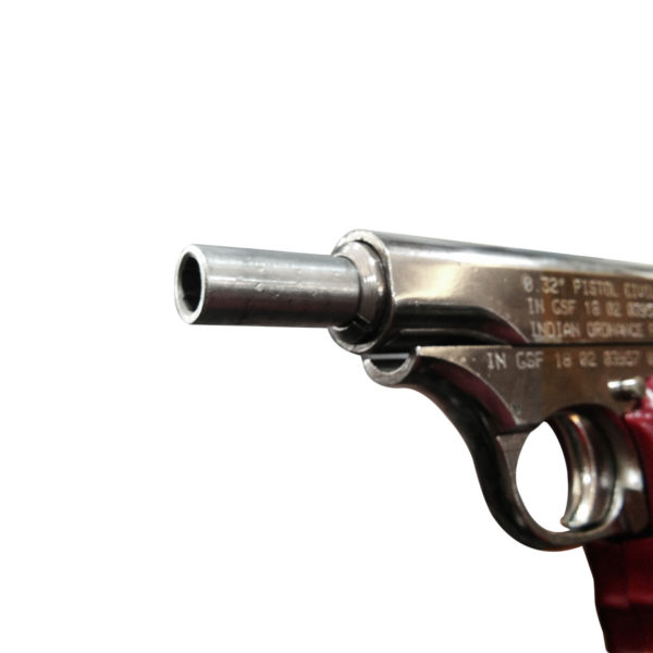 AHSANI PISTOL MK-II SILVER MADE BY GUN AND SHELL FACTORY ( INDIAN ORDNANCE FACTORY) (1)