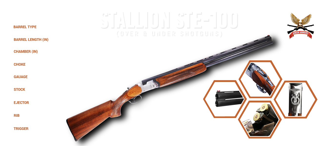 NEW STALLION STE 100 MADE BY BHARGAV ARMS CO